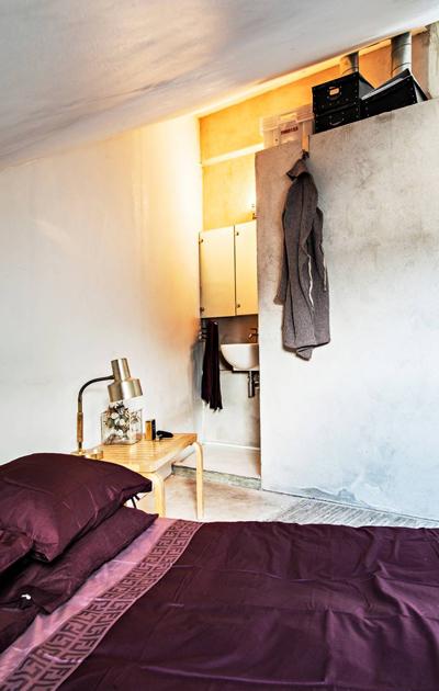 Makkari ja kylpyhuone