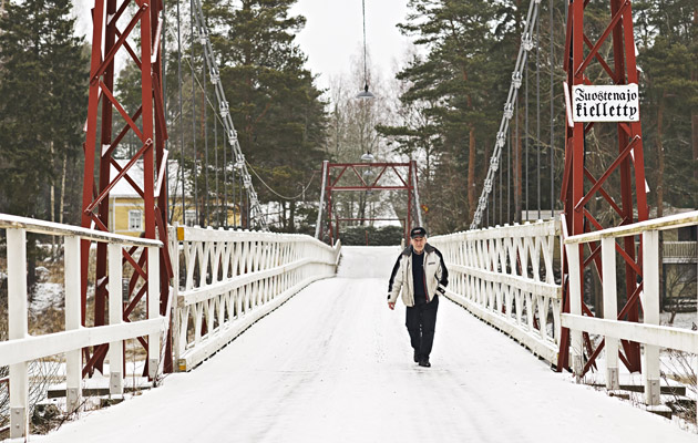 Suomen vanhin riippusilta