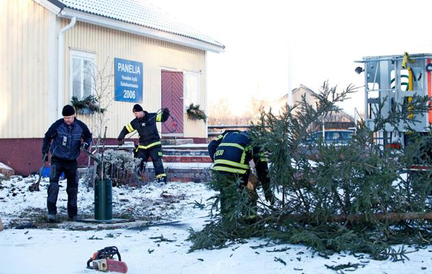 Panelia kilpailee Maalla-lehden sarjassa Suomen ihanimman kylän tittelistä.