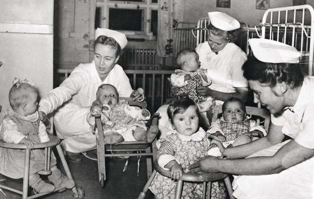 Joulumerkkikoti vauvoille