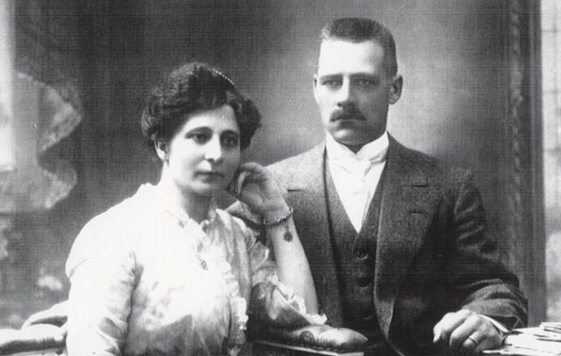 Augusta Olsson ja Erik Andersson