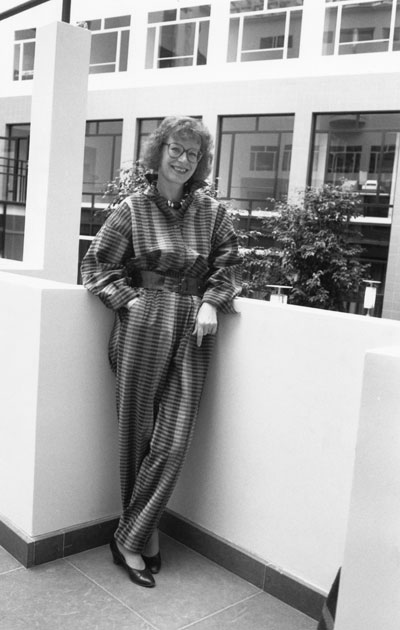 Kirjailija Kaari Utrio vuonna 1987