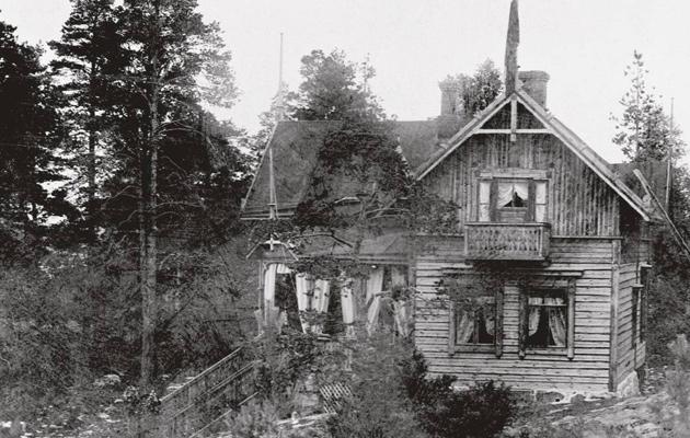 Villa Hällebo 1900-luvun alussa