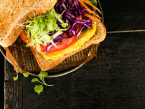 kasvissandwich