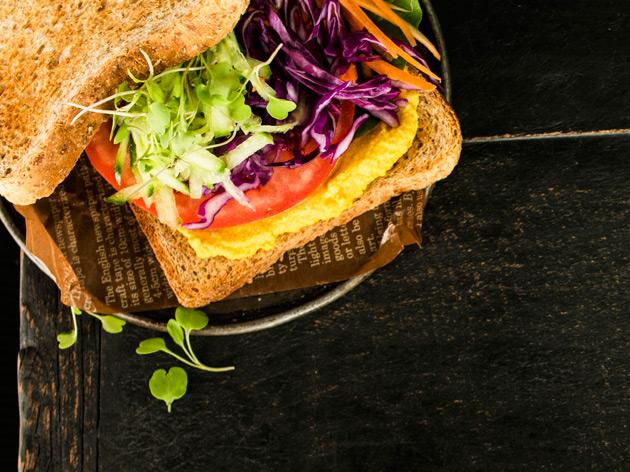 proteiinipitoiset kasvissandwichit