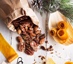 mausteiset pähkinät