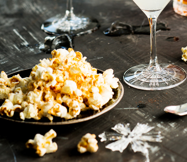 mausteiset popcornit