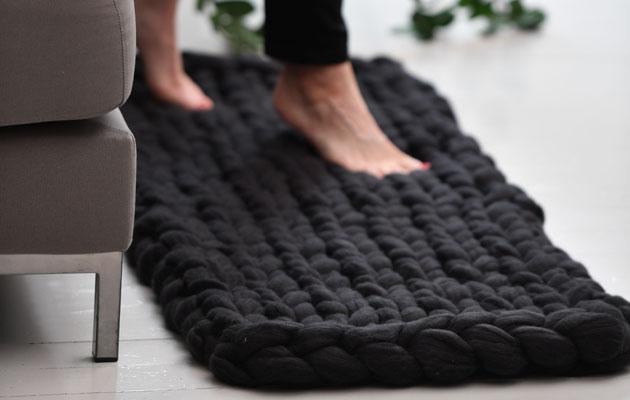 Käsivarsineulonta eli arm knitting on helppoa ja kivaa!