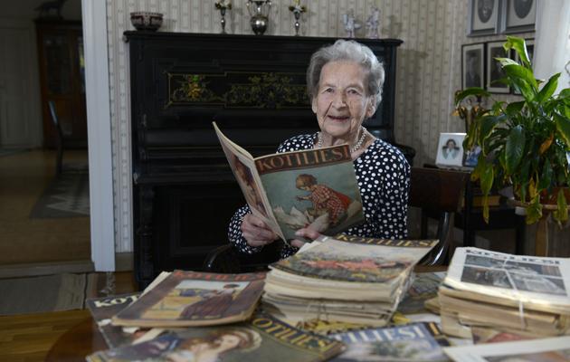 Maija Kitinoja, 100, Tervajoki. Eläkkeellä oleva kauppias.