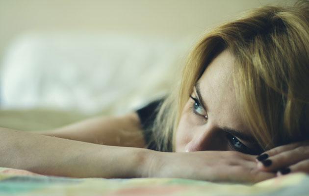 Uupunut nainen, diabeteksen oireet