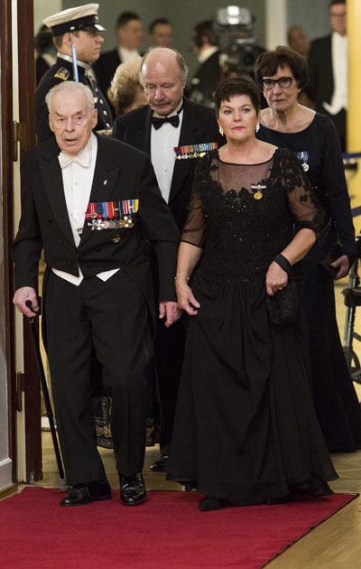 Nykyään ritarisäätiön puheenjohtajana toimiva Gerdt on viimeinen elossa oleva Mannerheim ristin ritari