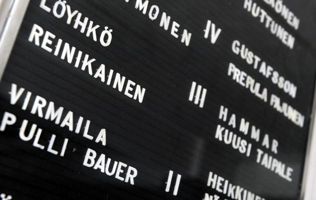 Suomen yleisimmät sukunimet eivät liene yllätys.