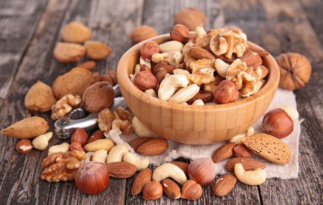 Pähkinät ovat todellista terveysruokaa.