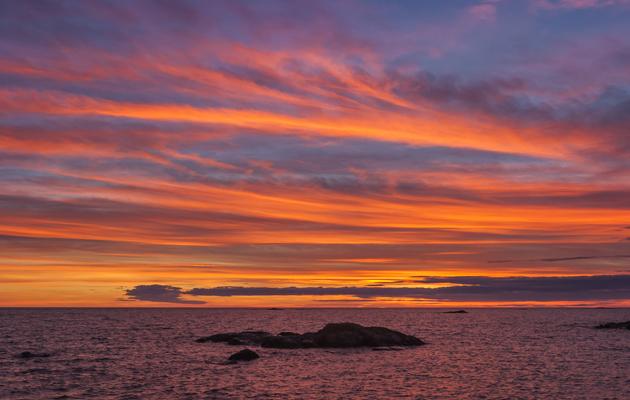 Kuva - Tiedätkö, miksi taivas muuttuu punaiseksi auringon laskiessa?