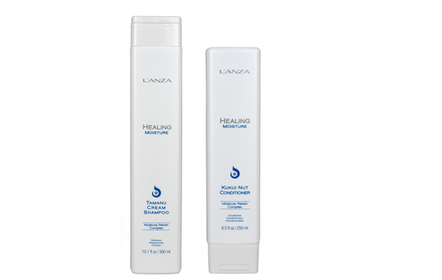 L'Anza Healing Moisture shampoo ja hoitoaine