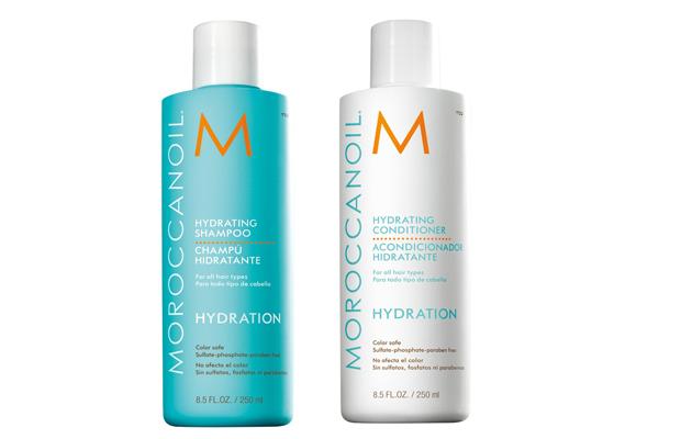 Moroccanoil Hydrating Shampoo ja COnditioner