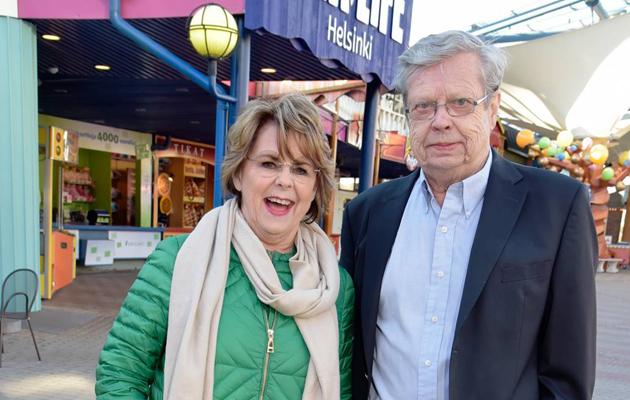 Pirkko Mannola ja Göran Stubb kertovat Seurassa suhteestaan.
