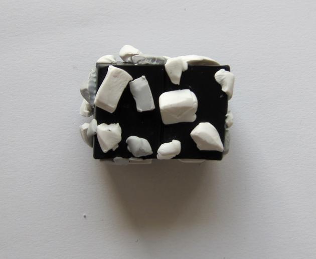 Marmoripintaisten kynttilöiden valmistus polymeerimassasta