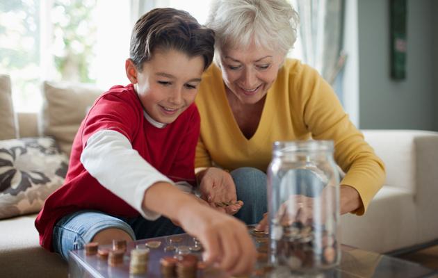 Kolmen kirjekuoren malli opettaa rahankäyttöä.