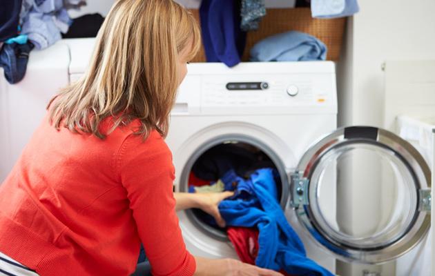 Pyykinpesu on mieluisin kotityö.