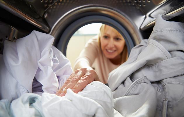 Pyykin peseminen on mieluisin kotityö.