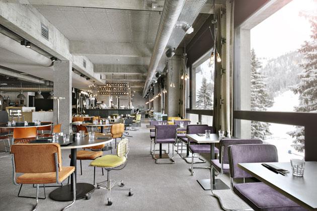 alppihotellin ravintola