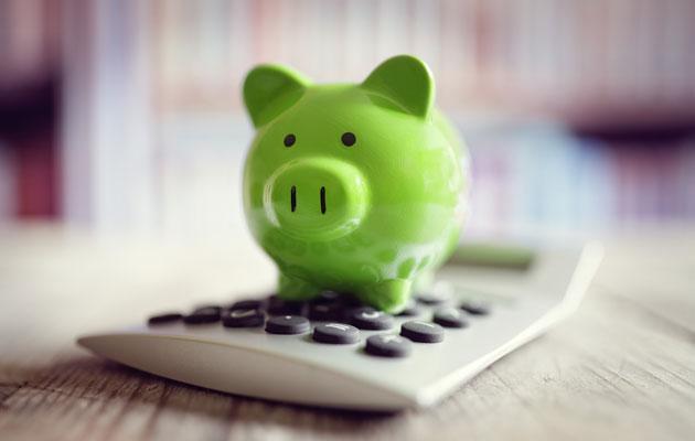 Taskun pohjalle jääneet rahat voi laittaa säästöpossuun