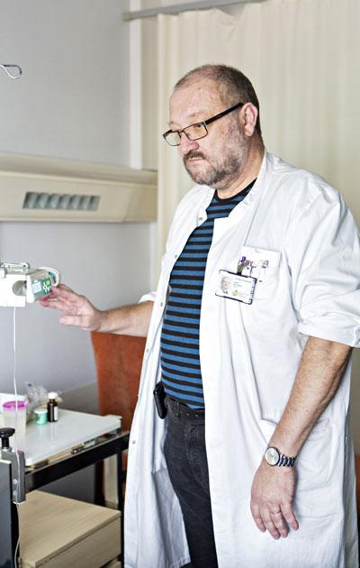 Urpo Hautala on saattohoitoon erikoistunut lääkäri.