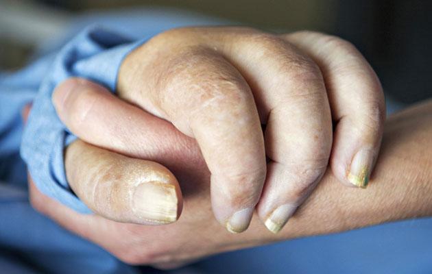 Sastamalan terveyskeskussairaalan osastolla saa hyvää saattohoitoa.