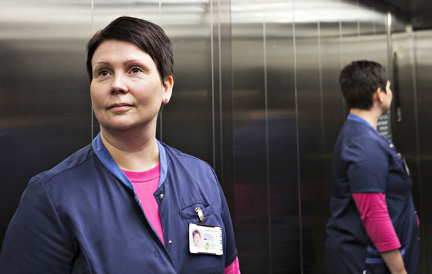 Johanna Voittomäki työskentelee Sastamalassa osastonhoitajana.