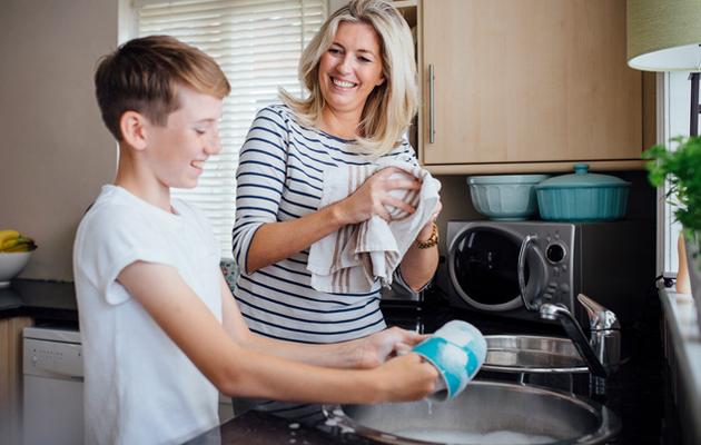 Tiskaaminen on viidenneksi mieluisin kotityö.