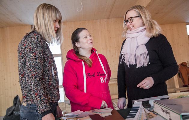 sisustussuunnittelija Paula Hellberg tekee Talo Haltiattaren sisustussuunnitelman Porin asuntomessuille 2018.