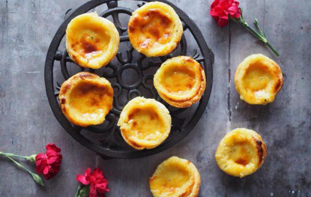 Pastéis de Nata – eli portugalilaiset vaniljaleivokset