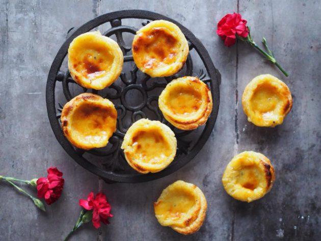 Kuva - Pastéis de Nata – eli portugalilaiset vaniljaleivokset