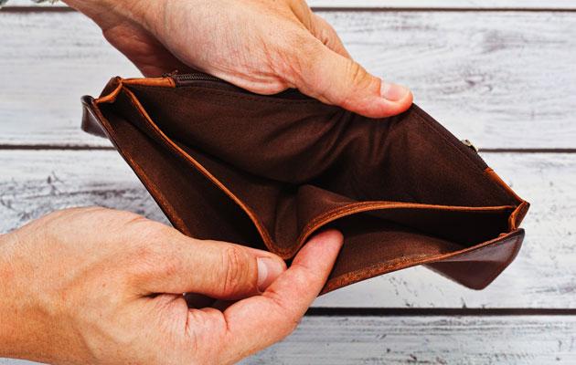 Rahat loppu ja lompakko on tyhjä.