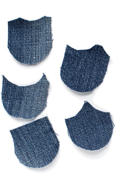 Suomu-tyynynpäällinen farkuista