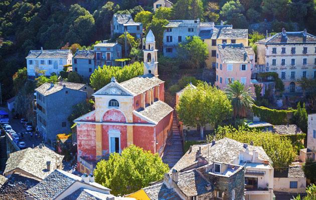Korsika - maisema