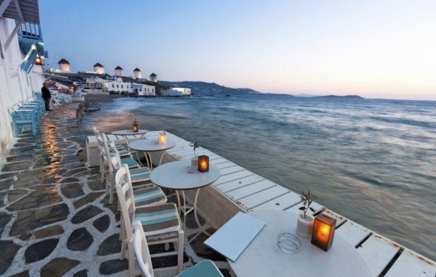 Kreikkalainen rantamaisema