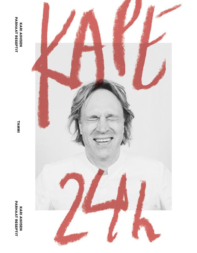"""Kaappaus keittiössä """"Kapelta"""" on tullut uusi keittokirja Kape 24 h."""
