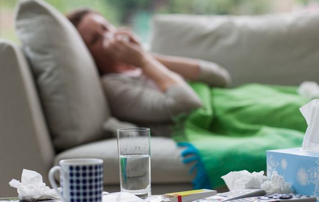 Sinkki helpottaa flunssan oireita.