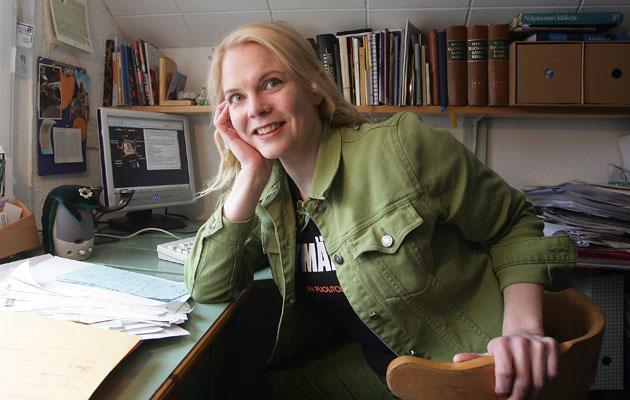 Heli Laaksonen kirjoitti hauskan runon naistenpäiväksi