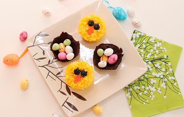 tipumuffinsit ja suklaapesät