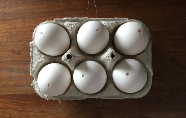 kananmunan tyhjennys on helppoa