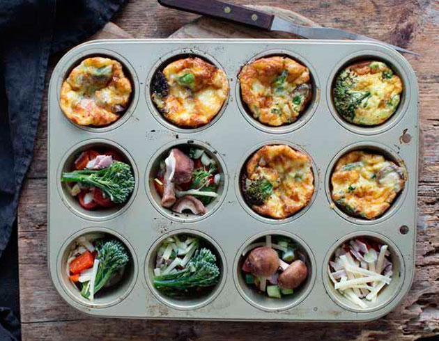 Laiskan kokin minimunakkaat ovat helppo hävikistä herkuksi ruoka.