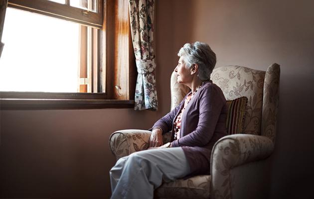 muistisairas nainen jolla on dementia