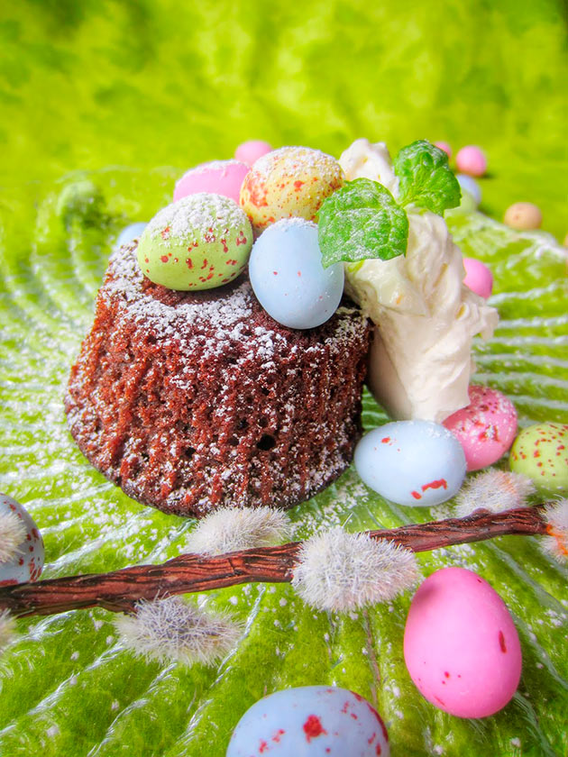 mämmikakku, pääsiäinen, suklaa, leivonta