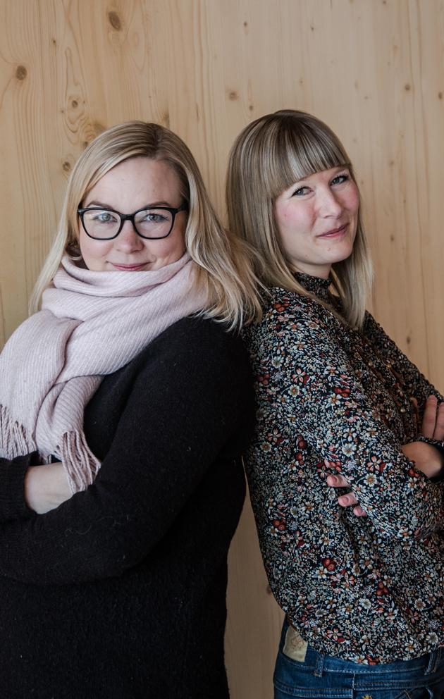 Paula Hellberg ja Hanna Hannukainen
