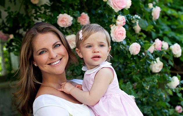 Prinsessa Madeleine, Eleanor, kuningasperhe, Ruotsin kuninkaalliset, äitiys