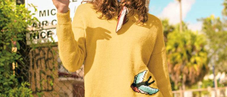 Keltainen lintupusero