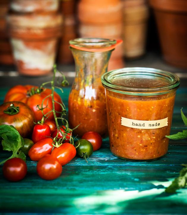 paahdettu tomaattikastike